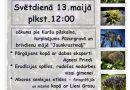 """Svētdien, 13.maijā pārgājiens """"Plaukstas lieluma pavasaris"""" no Kuršu pilskalna Kandavā"""