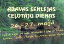 Abavas Senlejas ceļotāju dienu piedāvājums Sabilē 26. un 27. maijā
