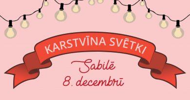 Sabiles 5. Karstvīna svētku programma (8. decembris)