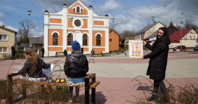 Sabiles mākslas, kultūras un tūrisma centra ārtelpas atklāšana